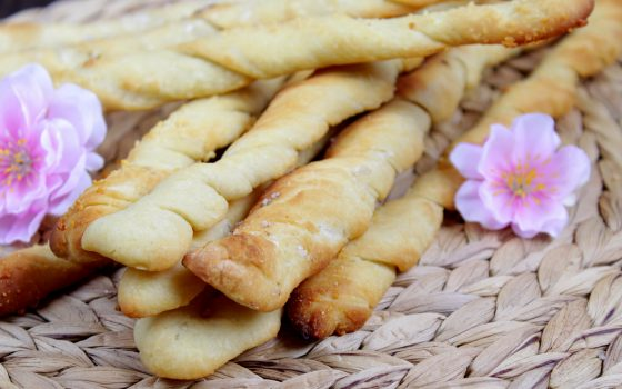 Brot-Knusperstangen