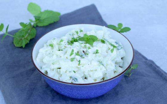 Kohlrabi – Salat mit orientalischer Note