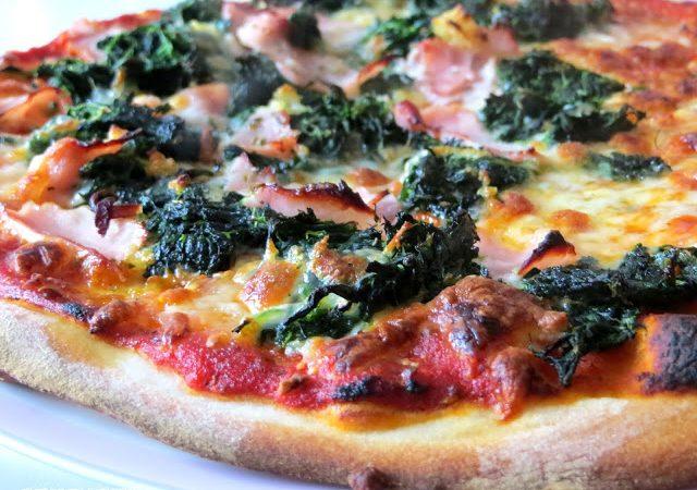 Spinat für Pizza