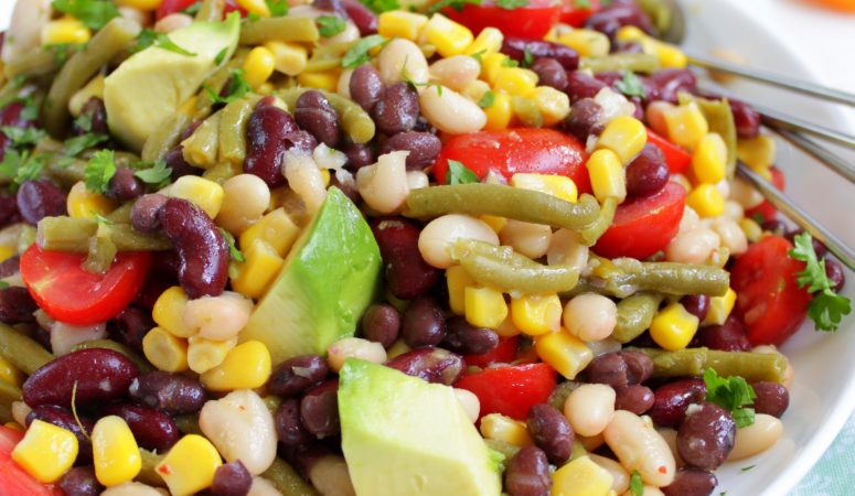 Bunter Bohnensalat – fix zubereitet