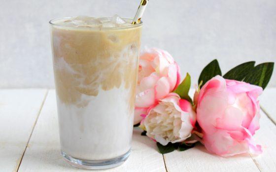 Iced Vanilla Coconut Latte a la Starbucks®