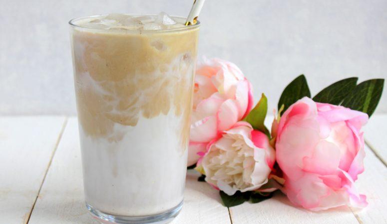 Iced Vanilla Coconut Latte a la Starbucks