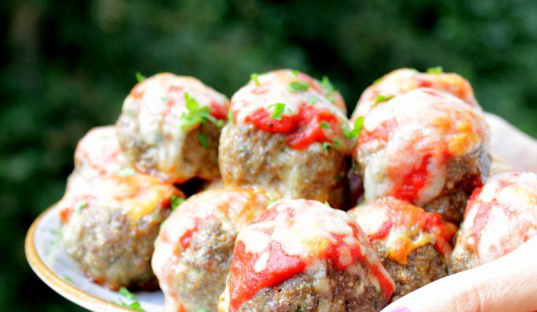 Meatballs | amerikanische Fleischbällchen überbacken