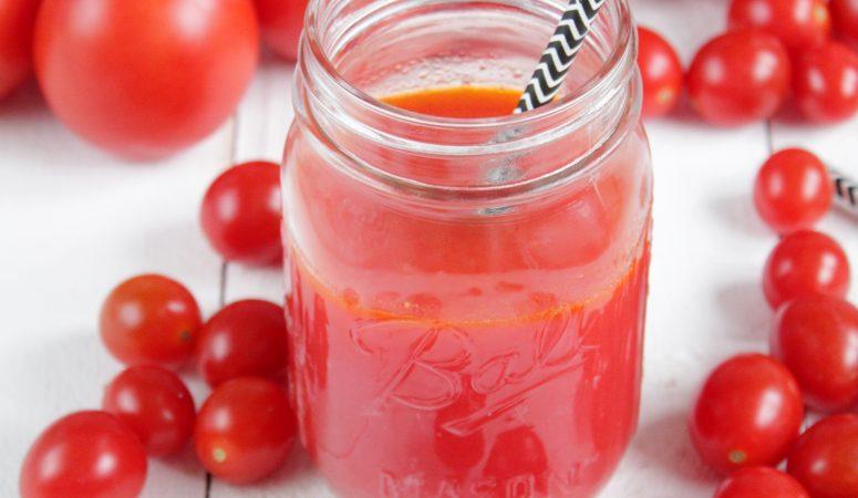 Tomatensaft | der gesunde Durstlöscher einfach selbstgemacht