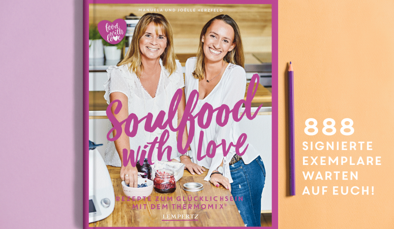 Soulfood with Love mit Signatur