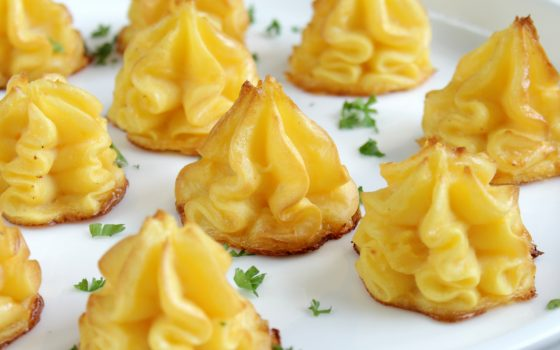 Pommes Duchesse   Herzoginkartoffeln