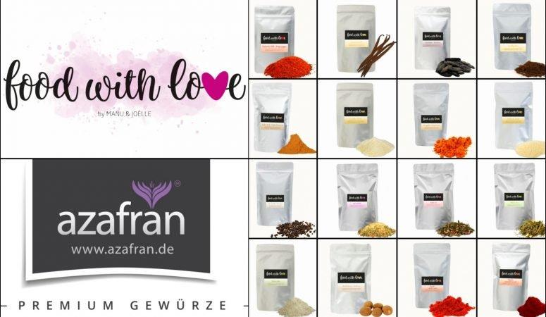 Food with Love Gewürzreihe by Azafran