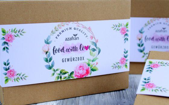 Food with Love Geschenkbox | Gewürzbox