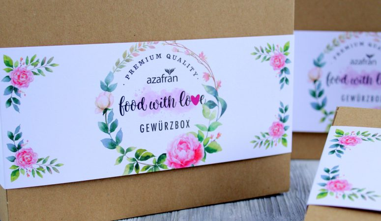 Food with Love Geschenkbox | Gewürzbox