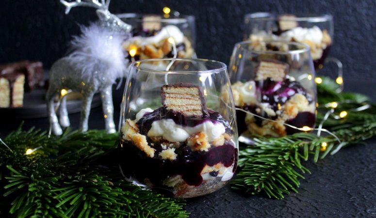 Baumkuchen Dessert mit Likör 43®