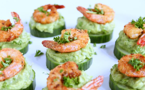 Shrimps Avocado Happen