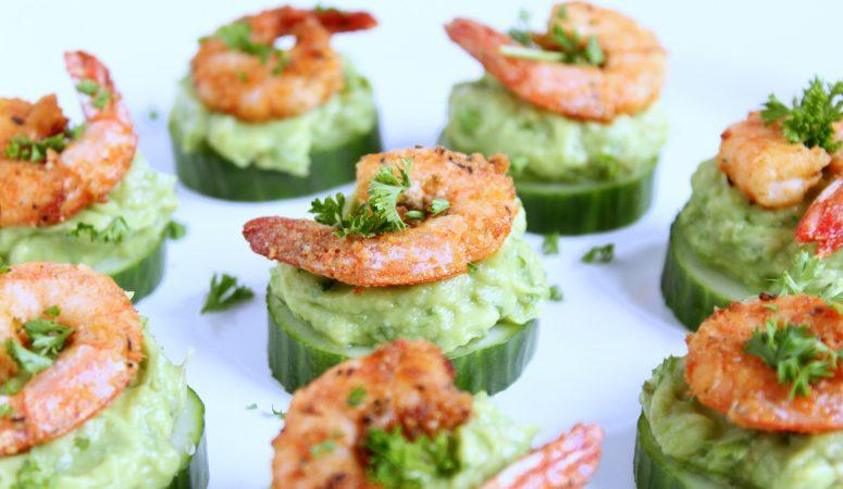 Shrimps Avocado Happen