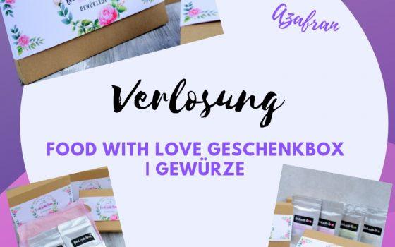 Verlosung | Food with Love Geschenkbox mit vier exklusiven Gewürzen