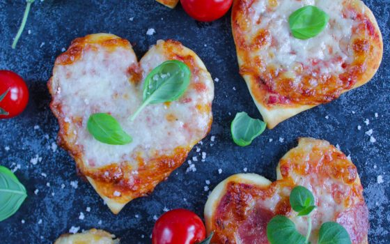 Mini Pizza Herze | Pizza Hearts