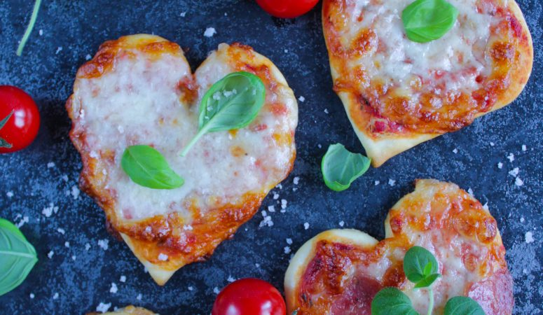Mini Pizza Herzen | Pizza Hearts