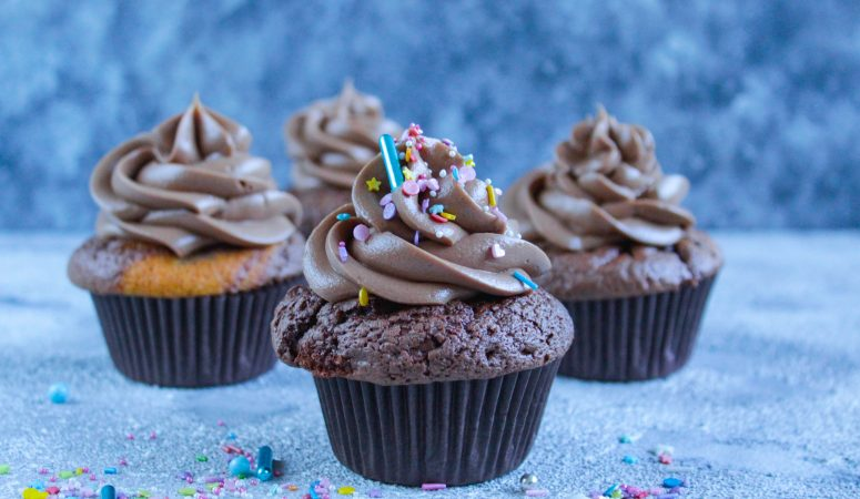 Nutella® Marmor Cupcakes