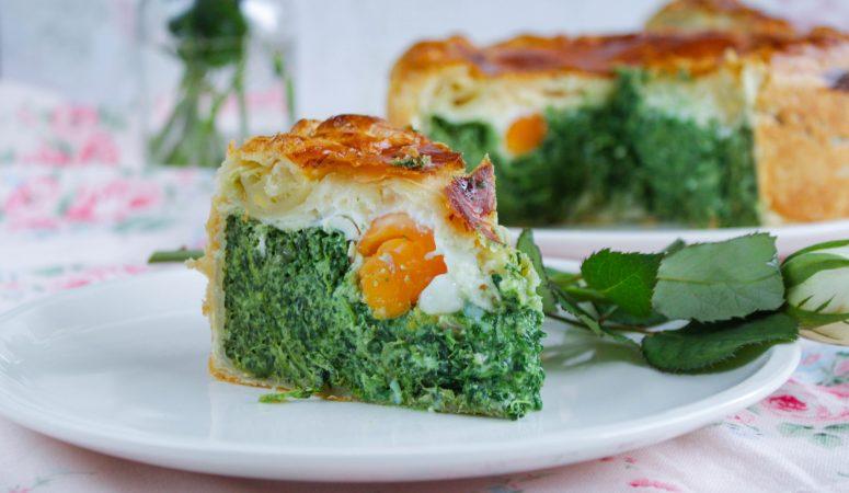 Torta Pasqualina | Italienische Spinattorte