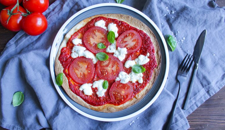 BlitzPizza|Tortilla Pizza Caprese