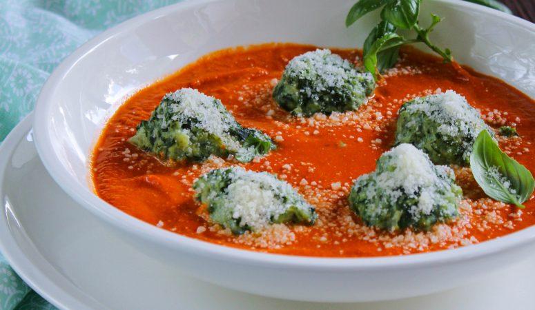 Malfatti   italienische Spinat-Ricotta-Nocken