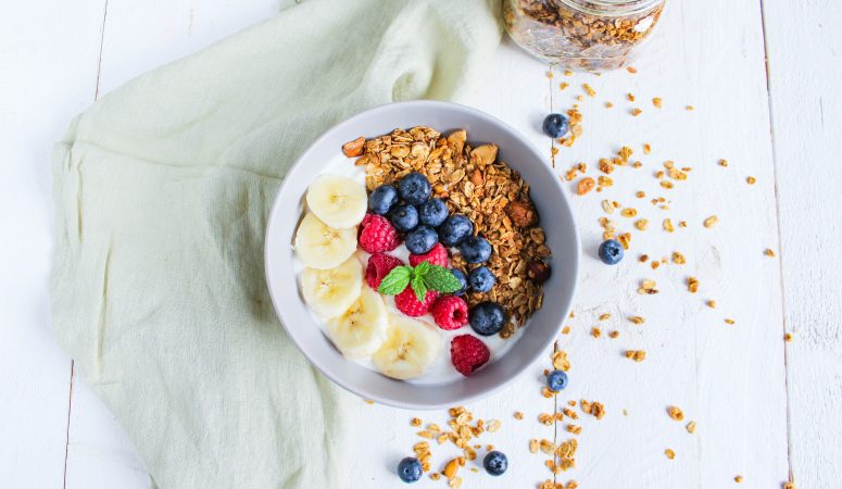Joghurt Frühstücks Bowl