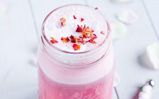 Pink Latte oder rosarote Auszeit