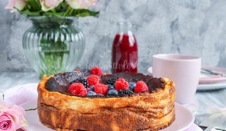 San Sebastian Cheesecake oder Burnt Cheesecake