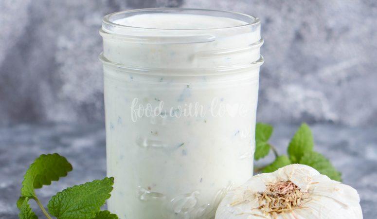 Joghurt-Knoblauchsauce zu Döner, Gyros und Co.