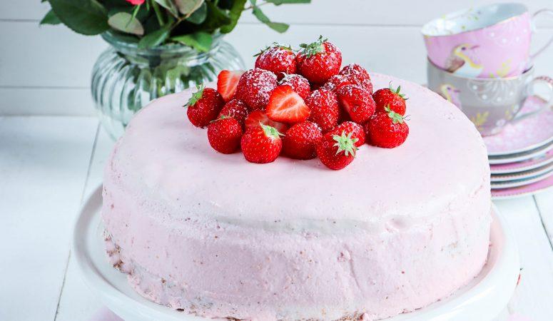 Erdbeer-Käsesahne-Torte