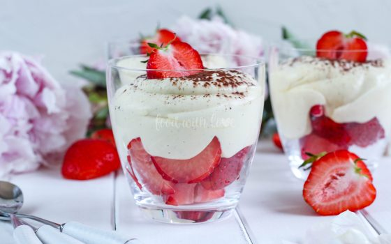 Crema di Fragola al Mascarpone – italienische Erdbeer-Mascarpone-Creme