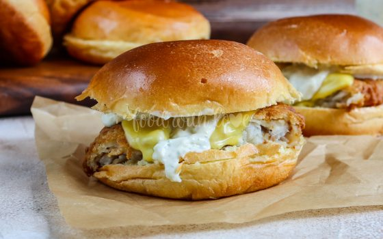 Filet-o-Fish homemade