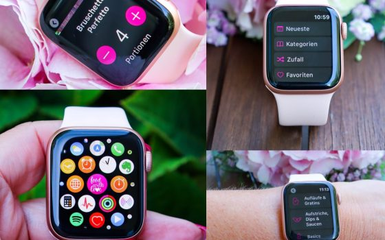 food with love App auf eure Apple Watch