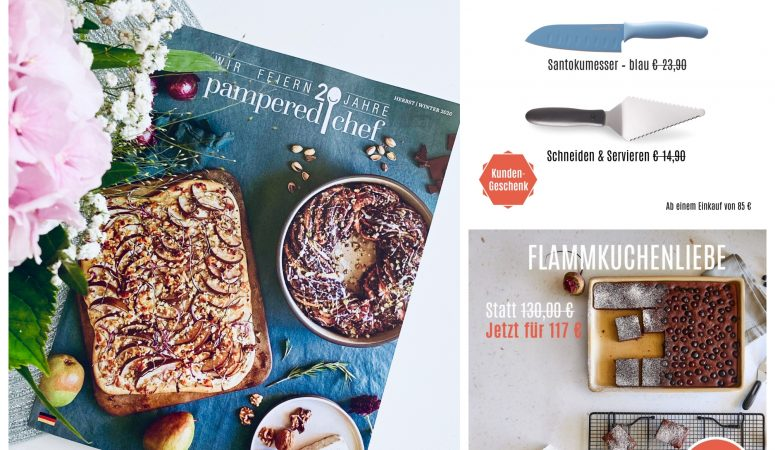 Pampered Chef® – neuer Katalog und Produkte
