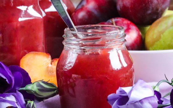 Pflaumen-Birnen-Marmelade