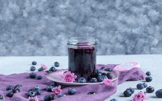 Heidelbeer-Zimt-Marmelade