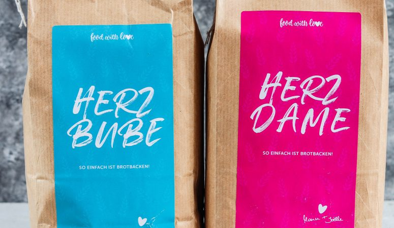 Herzdame und Herzbube – unsere Brotbackmischungen