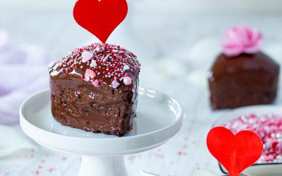 Schokoladenmuffins aus dem Varoma   auch im Backofen möglich   Be my Valentine