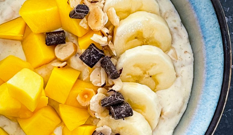 Mango-Bananen-Porridge