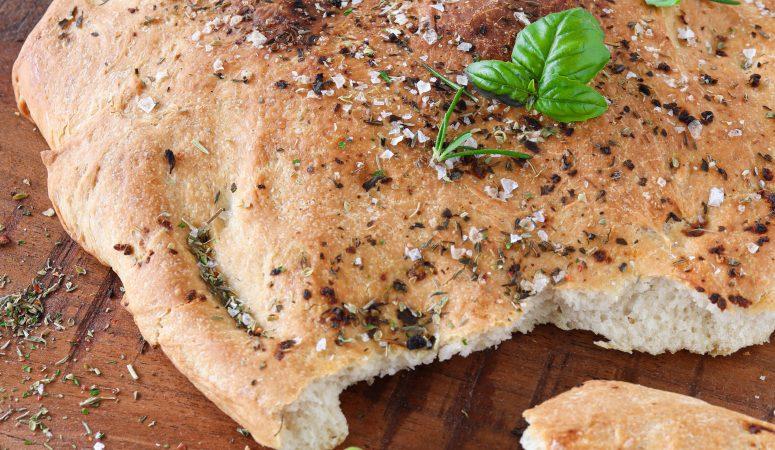 Mediterranes Grillbrot | Pizzabrot