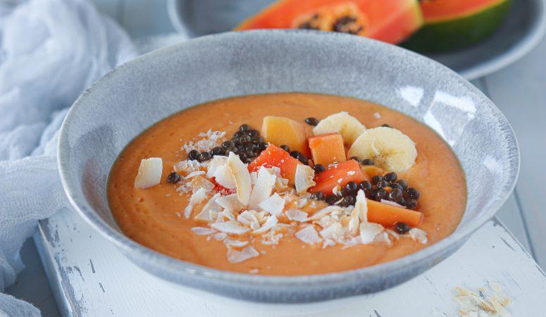 Papaya Smoothie Bowl
