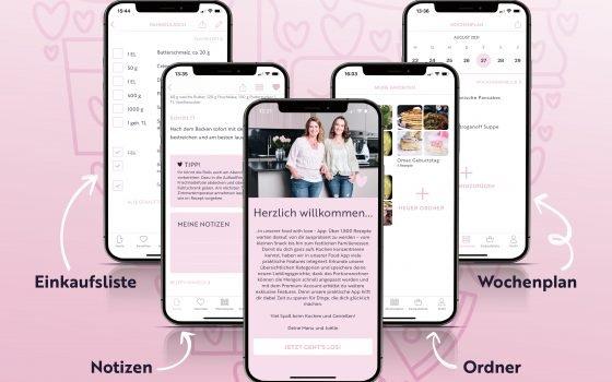Eure Ideen und Wünsche – Jetzt mit food with love Premium